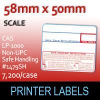 CAS LP-1000 Non-UPC Safe Handling #1479SH