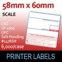 CAS LP-1000 UPC Safe Handling #1478SH