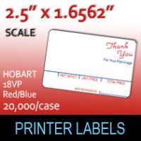 HOBART 18VP - Red / Blue