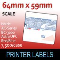 Ishida AC-Series, BC-3000, Astra UPC 59mm Red/Blue