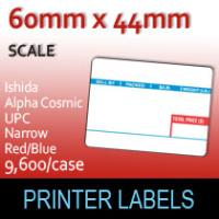 Ishida Alpha Cosmic UPC 44mm Narrow Red/Blue