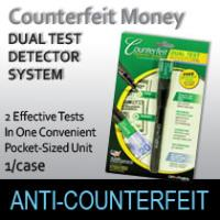 Dual Test Counterfeit  Detector System