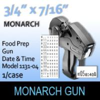 Monarch Food Prep Gun-Model 1131-04 (Date & Time)