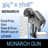 Monarch Food Prep Gun-Model 1131-07 (Date & Price)