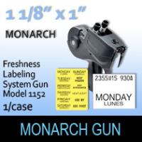 Monarch Freshness Labeling System Gun-Model 1152